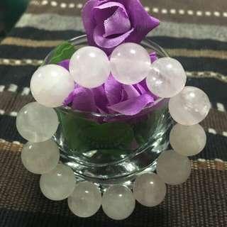 Rose Quartz Bracelet from Brazil