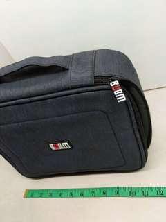BUBM Denim XXL Lens Gadget Headphone Audio Harddisk Equipment bag,