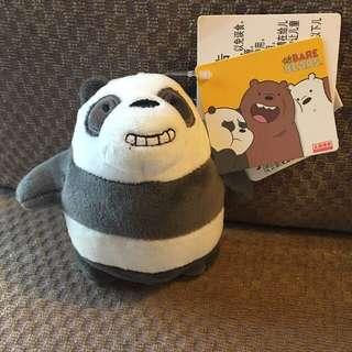 Miniso We Bare Bear Panda Keychain