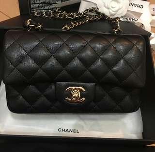 徵收 Chanel 20cm calfskin lambskin classic flap cf
