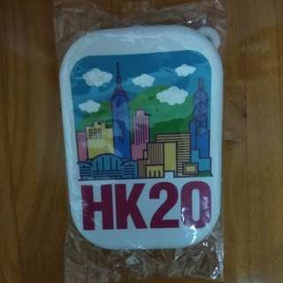 HK silicon purse key chain