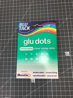 Blu Tack Glu Dots