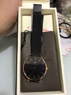 DW Classic Petite Ashfield Rose Gold 32mm