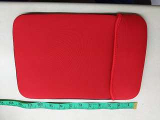 Red Padded Laptop Sleeve