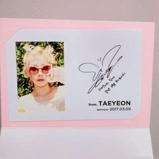 SMtown Artists Birthday Card