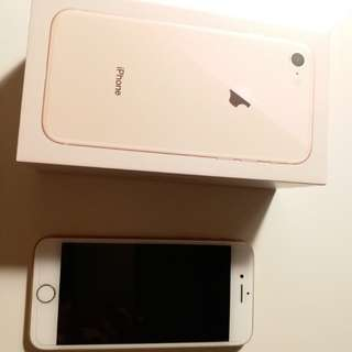 Iphone 8 256gb 99%new bought at Feb 26