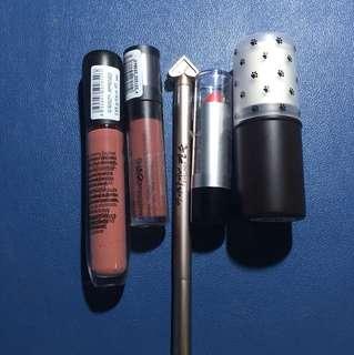 Assorted makeup