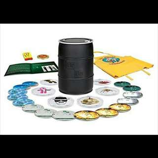 Breaking Bad Complete season Boxset Bluray