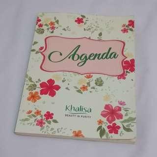 Notebook Agenda dari Khalisa
