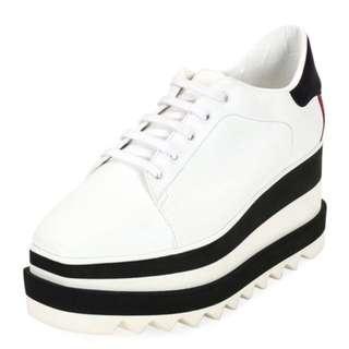 Stella McCartney inspired white shoes