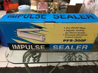 Impulse sealer pfs-300p