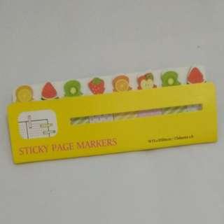 Stiker Halaman/Sticky page