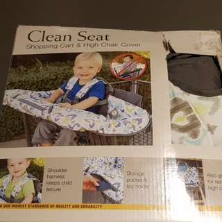 Eddie Bauer Clean Seat Shopping Cart & Seat Cover