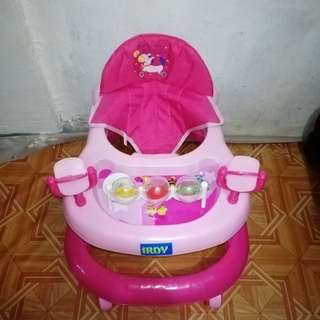 SOLD OUT Pink Baby Walker
