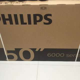 "Brand new 50"" Philips Ultra HD UHD 4K smart led TV sealed"