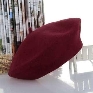 On hand beret winter hat hats