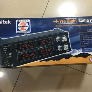 Saitek pro radio panel - flight simulator