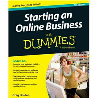 eBook Starting an Online Business For Dummies