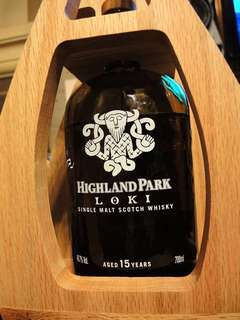 Highland Park Single Malt Whisky:Thor,Loki,Freya