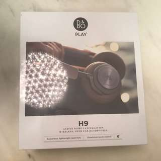 B&O PLAY H9 ACTIVE NOISE CANCELLATION WIRELESS, OVER-EAR HEADPHONES