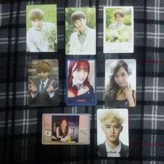 PHOTOCARDS FOR SALE