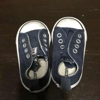 Converse Navy Blue Slip ons