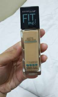 Maybelline Fit Me Foundation 130 buff beige