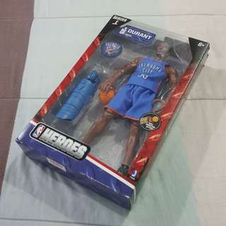 "Legit Brand New With Box NBA Heroes 12"" Kevin Durant Oklahoma City Thunder Series 1 Toy Figure"