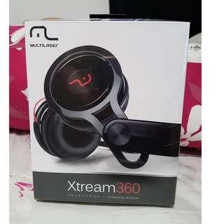 Brand New Multilaser Xtream360 Headphone