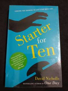 David Nicholls - Starter for Ten