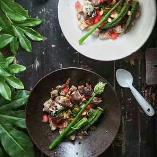 Food Photography Props Double-Sided Weathered Wood Boards