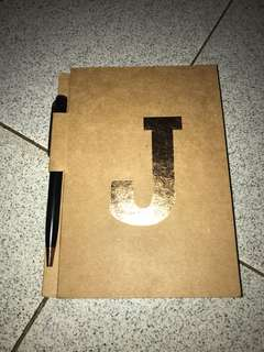 Typo J Note Book