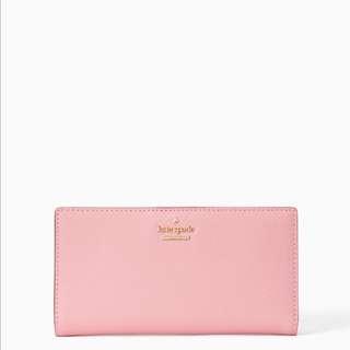 SALE Kate Spade Cameron Street Stacy Medium Snap Wallet Pink Majolica