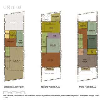 3 Storey Townhouse Unit in BANAWA