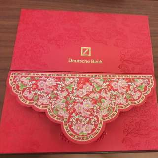 2018 Deutsche Bank angpow / red packets