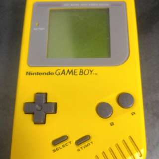"Nintendo Gameboy ""Fat"" 1st version  Yellow"