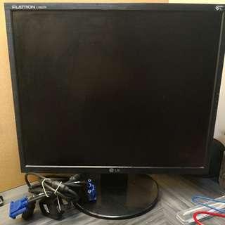 LG 電腦 mon 電腦顯視屏 19 inches