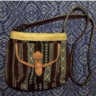 Bnew Aztec sling bag