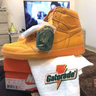 "Nike Jordan AJ1 gatorade pack ""orange peel"""