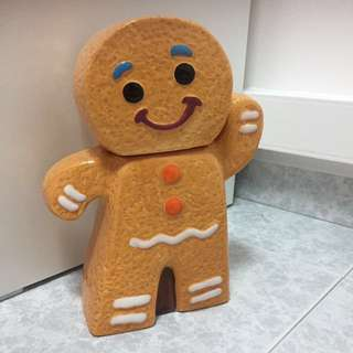 Ginger Breadman Jar