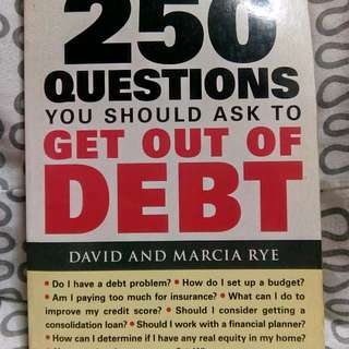250 questions to ask yourself to get out of debt