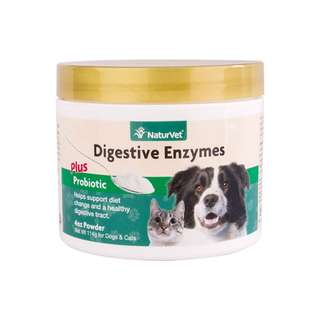 NaturVet Digestive Enzymes Powder 8oz