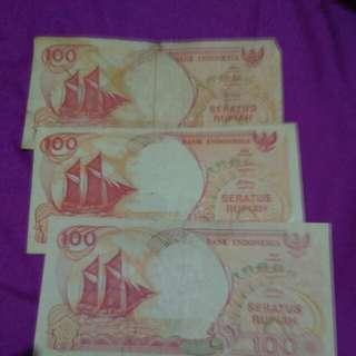 Uang kertas thn 1992