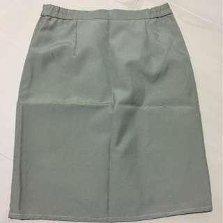 Grey-Green Skirt