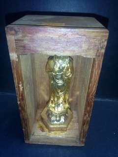 木盒观音。高10cm