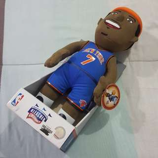 "Legit Brand New With Tags Bleacher Creatures 14"" NBA Carmelo Anthony New York Knicks Plush Toy"