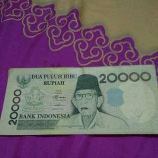 Uang kertas thn 1998