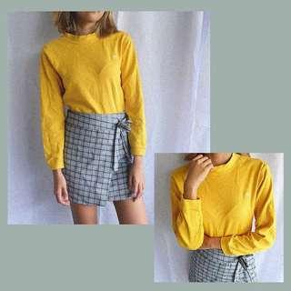 Gen Z Yellow Pullover