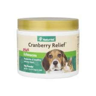 NaturVet Cranberry Relief® Plus Echinacea Powder For Dogs & Cats 50g