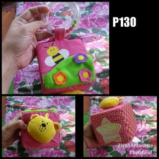 CUBE SOFTOY RATTLE (REPRICE)